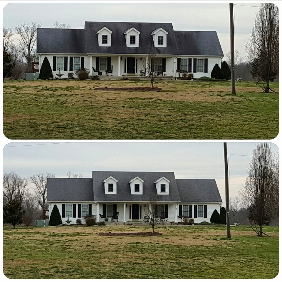 Your roof is one of the most important parts of your home. So why not trust a team who can make it last as long as possible… And look beautiful at the same time? Grime Stoppers is proud to meet both goals for all of our customers with our roof cleaning solutions.